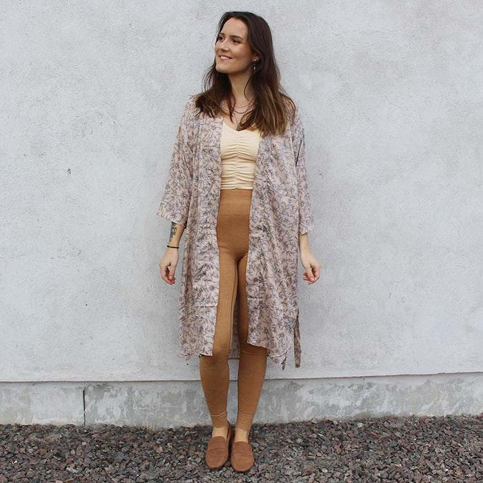 Kimono Magnolia long Nr 198 - Sissel Edelbo