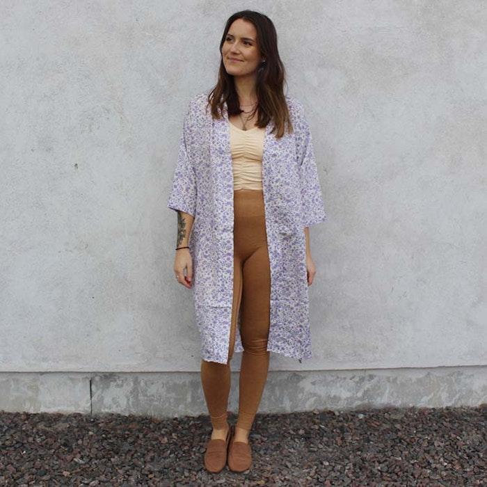 Kimono Magnolia long Nr 199 - Sissel Edelbo