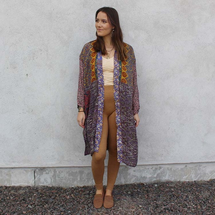 Kimono Morning Glory Long Pocket Nr 204- Sissel Edelbo