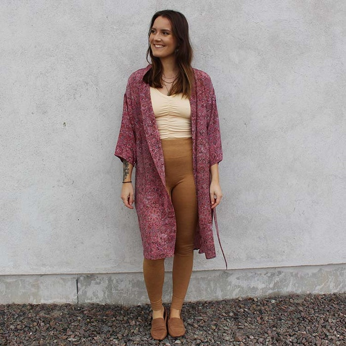Kimono Magnolia long Nr 219 - Sissel Edelbo