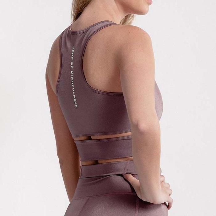 Sport-BH Yoga Melanie Blush Shine - DOM