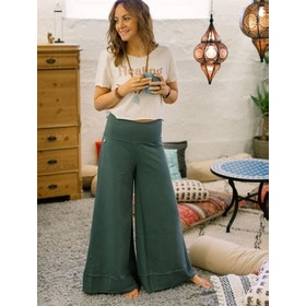 Byxor Big Pants Balsam Green - Soul Factory