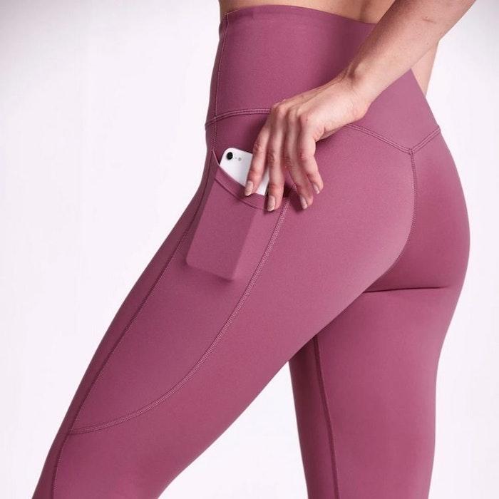 Yogaleggings Motion Rose water Pocket 7/8 - Dharma Bums