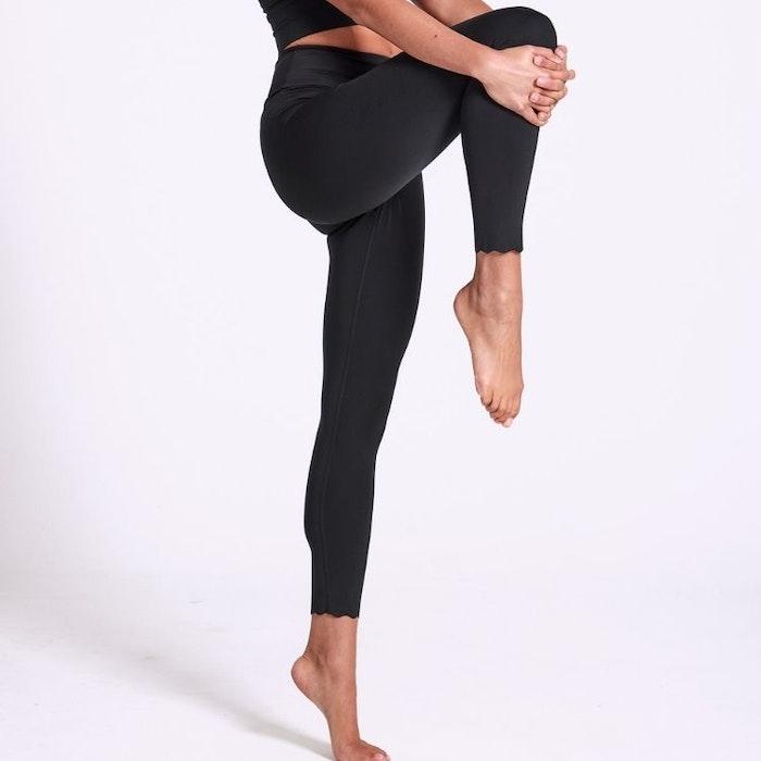 Yogaleggings Scallop 7/8 - Dharma Bums