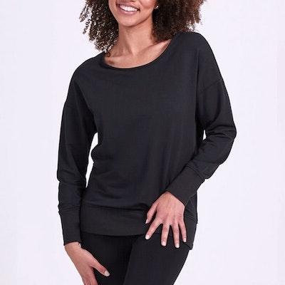 Sweatshirt Inspire Open back Black - Dharma Bums