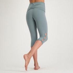Yogaleggings Shanti Capri Jade - Urban Goddess