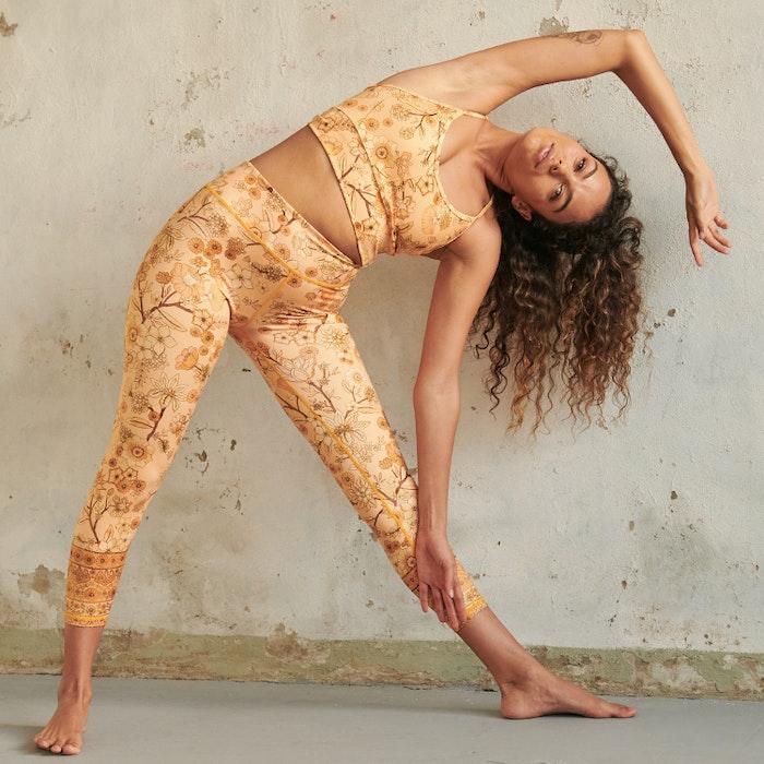 Yogaleggings Balance Woodstock High Waist 7/8 - Dharma Bums
