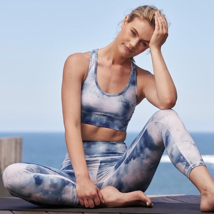 Sport-BH Yoga Racer back Cloud dancer - Dharma Bums