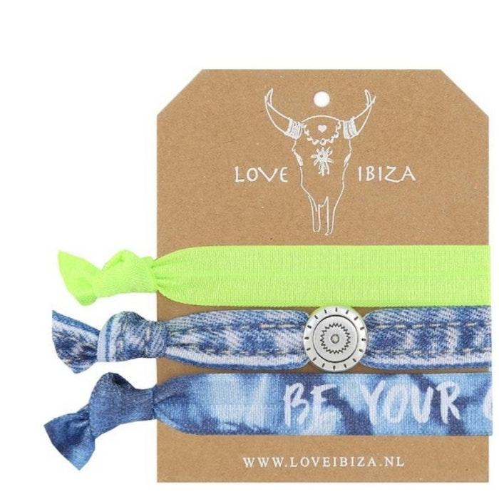 Hairties hårband/armband Be your own hero - Love Ibiza