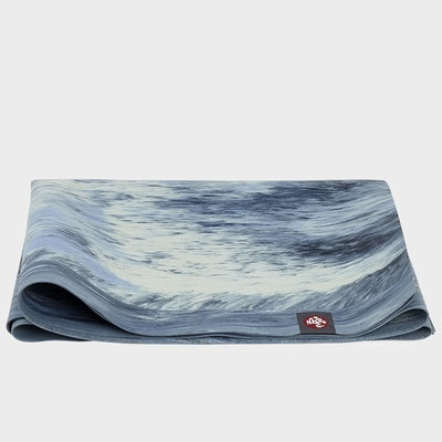Yogamatta SuperLite Travelmat Sea Foam Marbled - Manduka