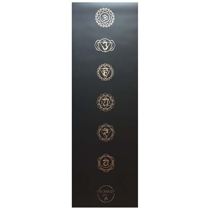 Yogamatta Chakra 178x61 cm 4 mm + Yogaväska - Vackraliv Yoga