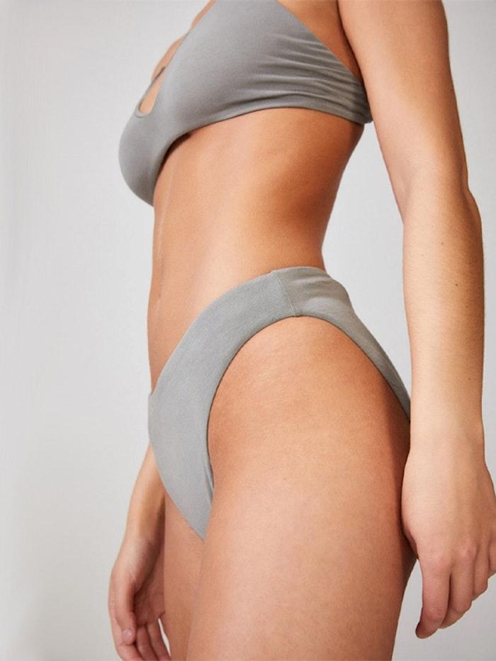 Bikinitopp Triangel-BH Khaki - Movesgood