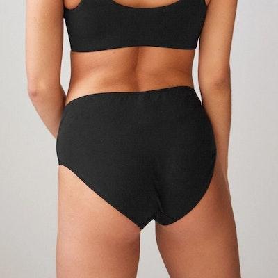 Bikinitrosa Briefs med hög midja Black - Movesgood