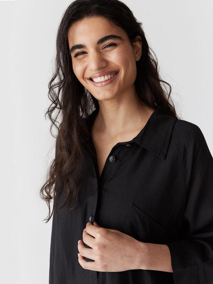 Linneklänning Lucia Black - Movesgood