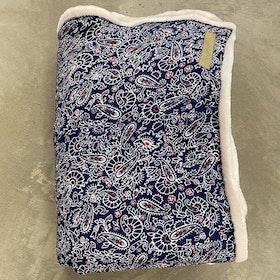 Yogafilt Sari/silke Blue Moon - E-swiss