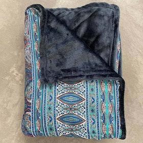 Yogafilt Sari/silke Mediterranean Sea- E-swiss