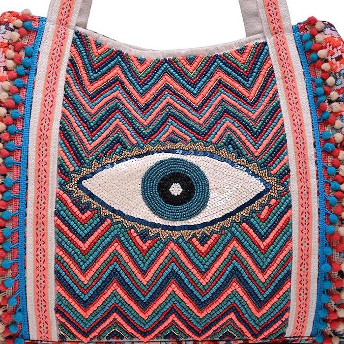Väska Evil Eye Good Luck Hand - America & Beyond