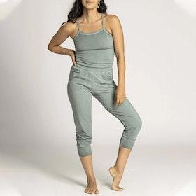Jumpsuit Stone Wash Yoga Smoked Jade - Ripple Yogawear