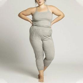 Jumpsuit Stone Wash Yoga Light Grey - Ripple Yogawear