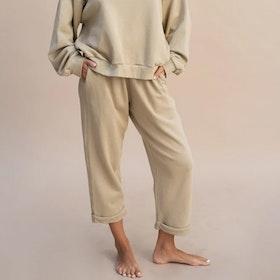 Byxor Sunday Lounge pants  Sand - Indigo Luna
