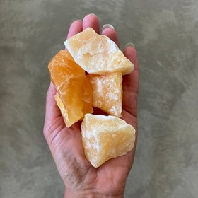 Orange Kalcit Large