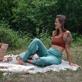 Byxor Aladin Pants Balsam Green - Soul Factory