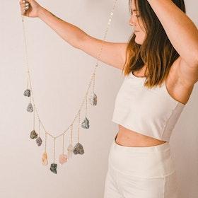 Väggdekoration Healing Rainbow Crystal Garland - Ariana Ost