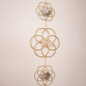 Väggdekoration Flower of Life Gold - Ariana Ost