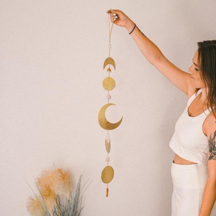 Vägg dekoration  Moon Phase Gold - Ariana Ost
