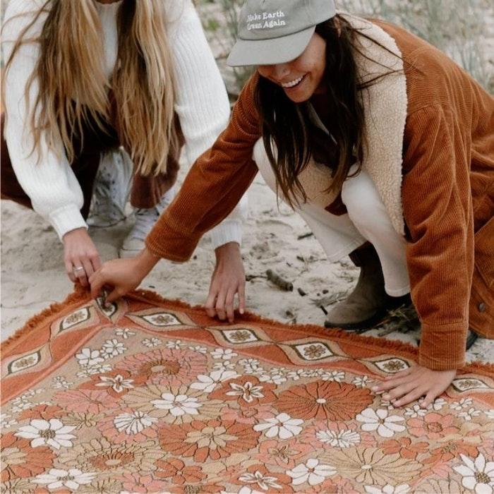 Vävd filt Copper - Wandering Folk