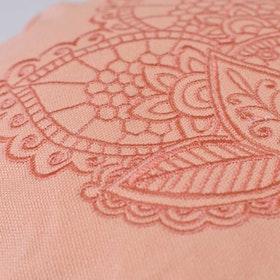 Meditationskudde Lotus Pretty Peach - Love Generation