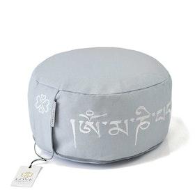 Meditationskudde Mantra Dolphin Grey - Love Generation