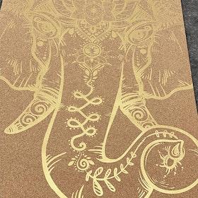 Yogamatta Kork The Powerful Mind Gold - Yggdrasil
