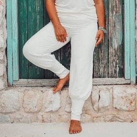 Byxor Aladin Pants Ivory - Soul Factory