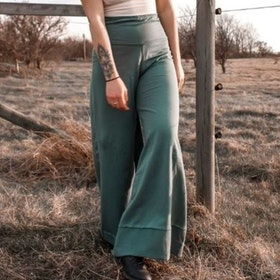 Byxor Big Pants Balsam Green - Soul Factory