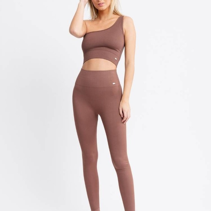Sport-BH Yoga Seamless Rebecka Nutmeg - DOM