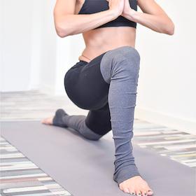 Yogamatta Love Extra Thick Warm Grey 6mm - Love Generation