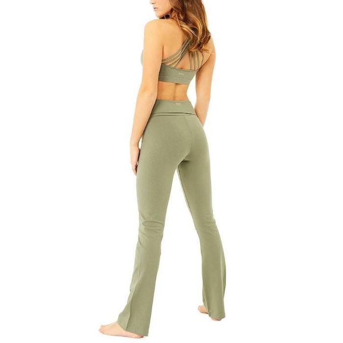 Yogaleggings Classic Rolldown Thyme - Mandala