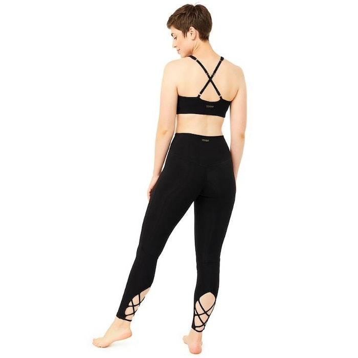 Yogaleggings Crossover Black - Mandala