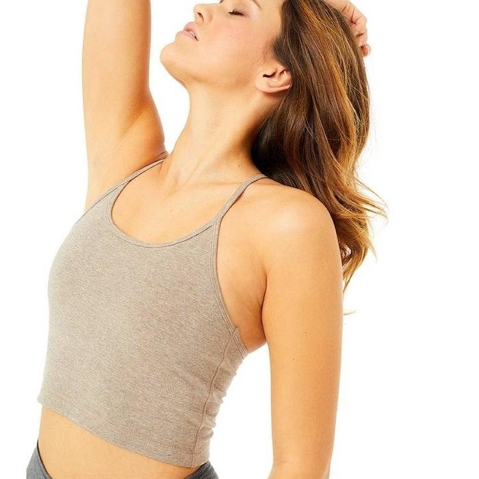 Yogatopp Basic Silver Lining - Mandala