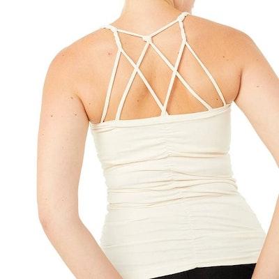 Yogalinne Cable Top Vanilla - Mandala