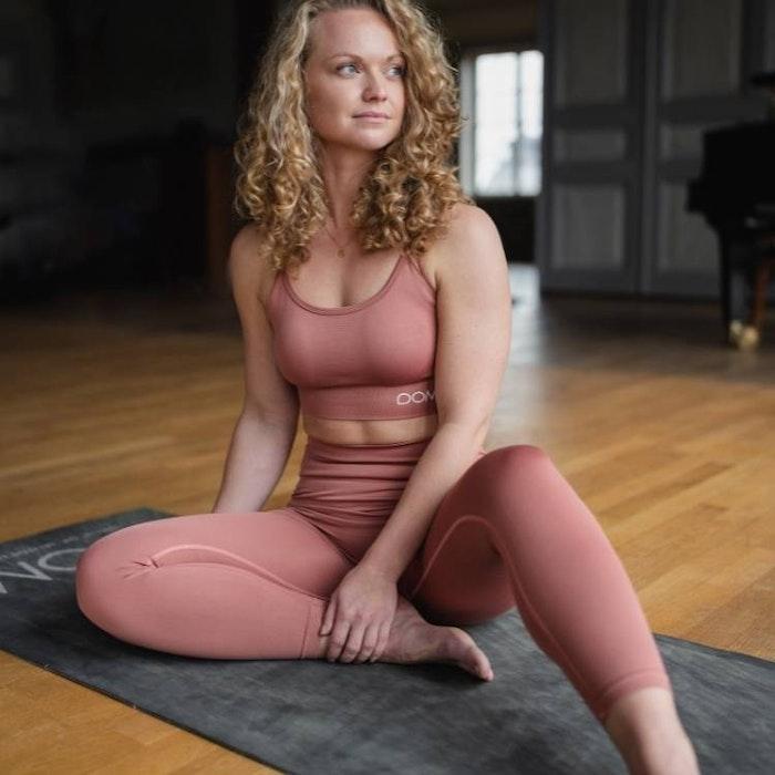 Sport-BH Yoga Seamless Trinity Rouge - DOM