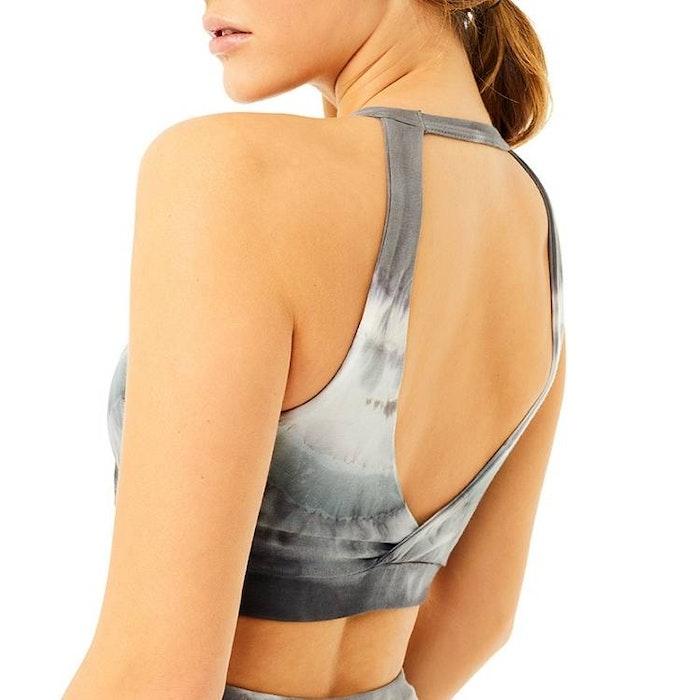 Yoga-BH Batik Halterneck Grey - Mandala