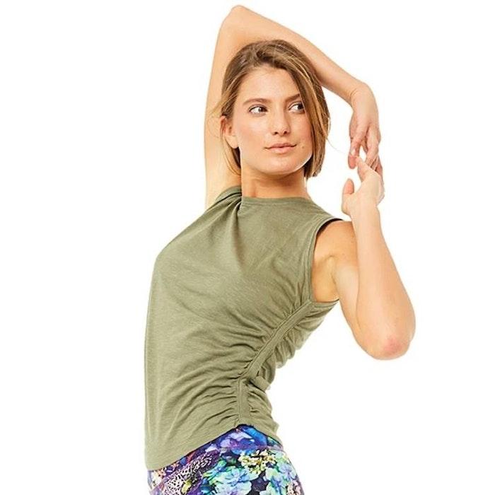 Yogalinne Side Ruffled Thyme - Mandala