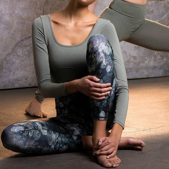 Yogaleggings Fancy Meadow - Mandala