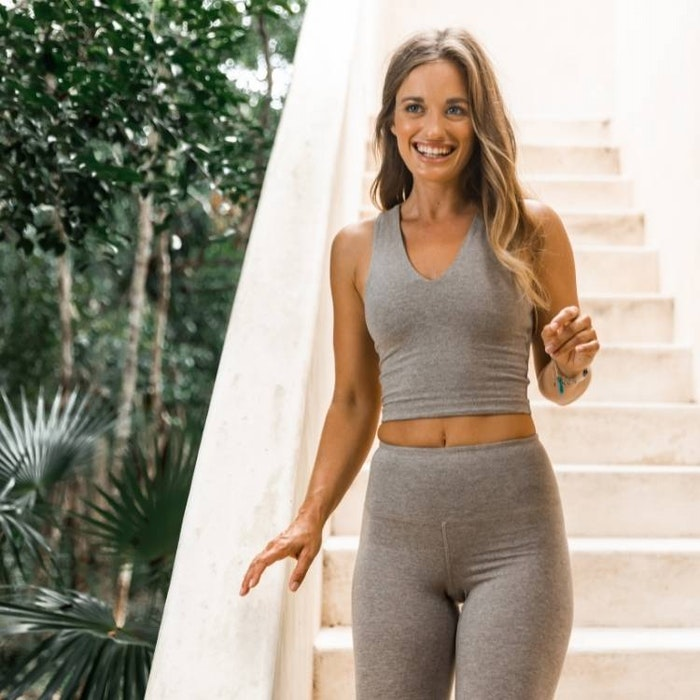 Yogaleggings High Rise Silver Lining - Mandala