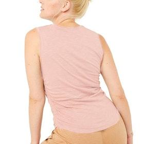 Yogalinne Side Ruffled Nude - Mandala
