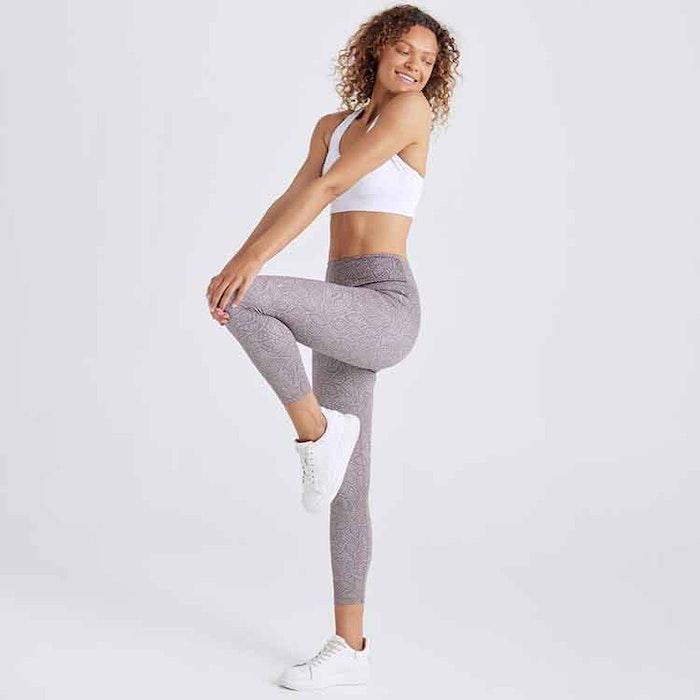 Yogaleggings Balance Cinnamon High Waist 7/8 - Dharma Bums