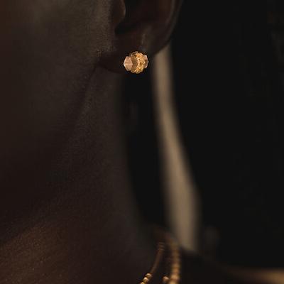 Örhänge Shoot for The Moon Gold - Ananda Soul
