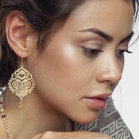 Örhänge Breathe of Life Gold - Ananda Soul